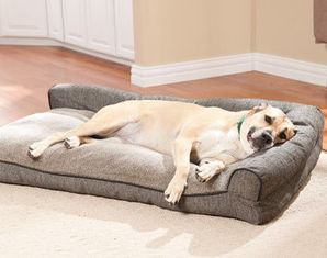 Waterproof  orthopedic dog bed ,Large Washable Memory Foam pet Bed , Outdoor Memory Foam Dog Bed